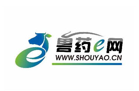 中国兽药E网标志设计