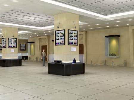 河北电视台展厅设计