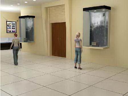 河北電視臺展廳設計