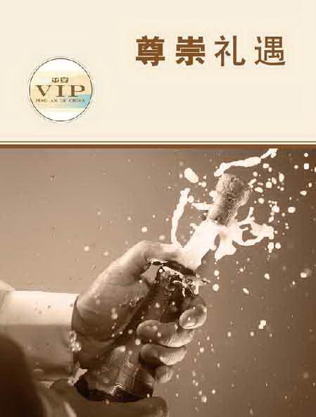 中国平安人寿河北分公司VIP俱乐部展板设计