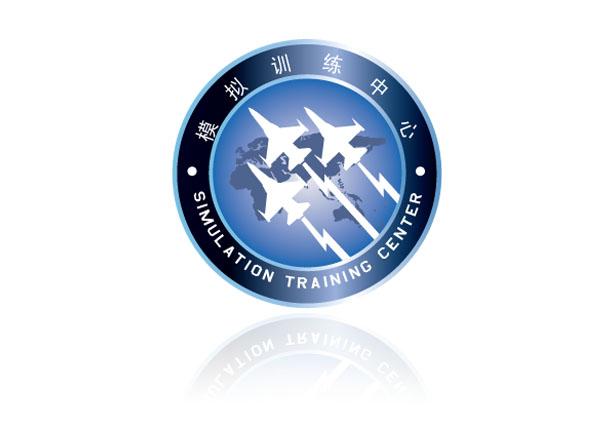 空军模拟中心标志设计